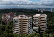 """""""A Toda Costa"""", 06/06/2018. Gola de Pujol Nou, Parque Natural de la Albufera, Valencia, Comunidad Valenciana. Urbanizaciones dentro del DPMT en la Gola de Pujol Nou. ©Greenpeace / Pedro Armestre"""