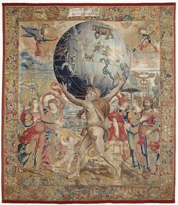 Hércules sostiene la esfera celeste