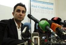 Hervé Falciani en una rueda de prensa en Barcelona