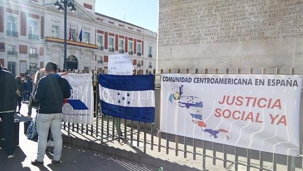 Honduras-protestas-Madrid