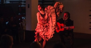 Aana Morales en un número flamenco. FOT: Javier Fergo