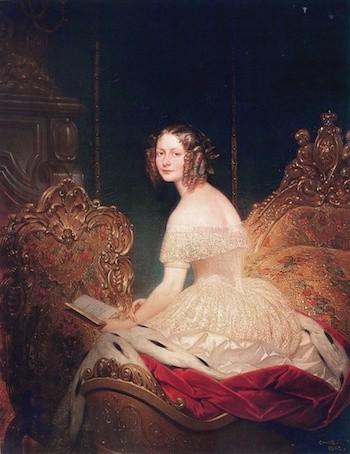Joseph Désiré Court: Gran Duquesa Yelena Petróvna. 1842