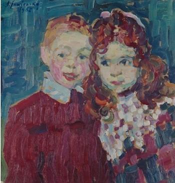 Alexéi Jawlensky: Andreas y Katia, 1905
