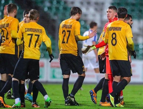 Jugadores del FC Ararat Moscú.