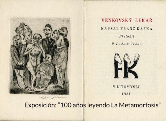 """Libro de la exposición """"Cien años leyendo La Metamorfosis"""""""