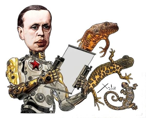 Karel Čapek por Xulio Formoso