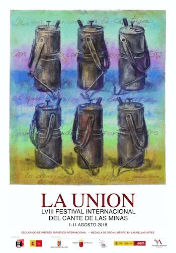 La Unión Cante de las mInas cartel 2018