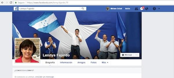 Lennys Fajardo facebook