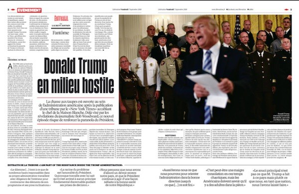 Liberation Fantome Trump 07-09-2018