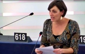 Lola Sánchez Caldentey en la Eurocámara