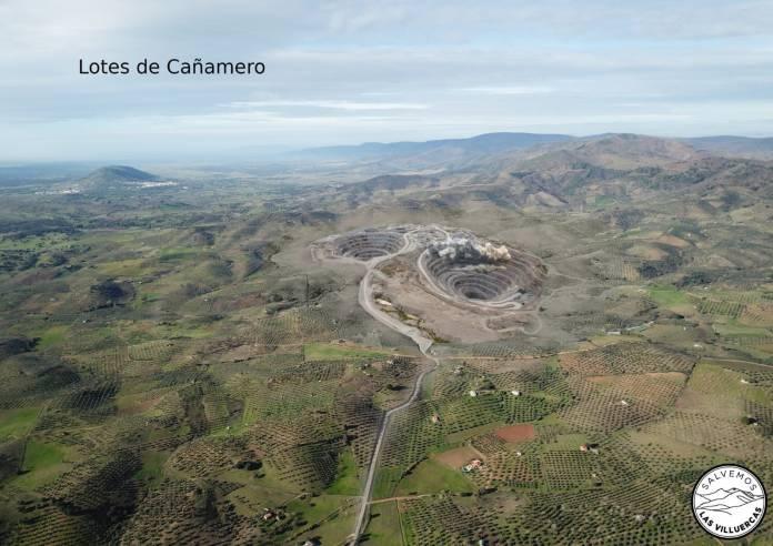 Lotes de Cañamero mineras