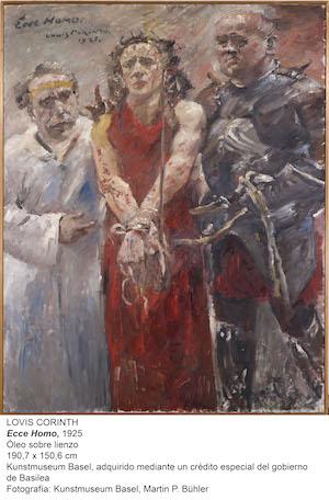 Lovis Corinth (1858–1925); Ecce Homo