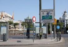 Madrid Central señalizacion