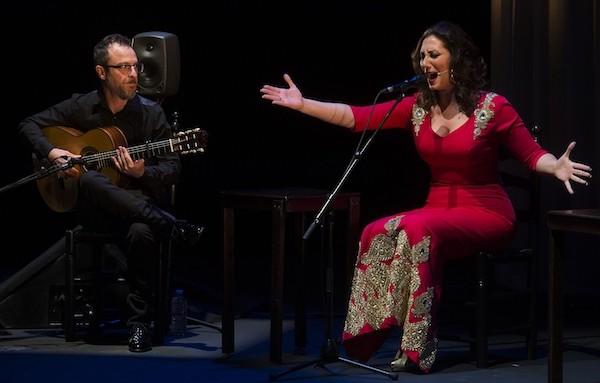 Marina Heredia y José Quevedo Bolita Foto David Mudarra