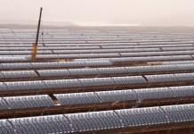 Complejo de CSP de Noor-Ouarzazate, en Marruecos. Foto de CIF/World Bank