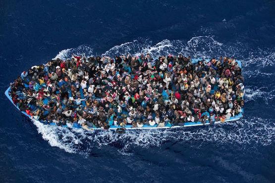 Massimo Sestiny: inmigrantes en el Mediterráneo