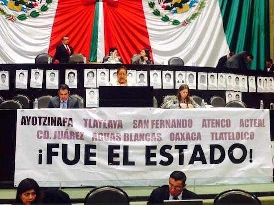 Mexico-DDHH-Manta-PRD-MC-Diputados