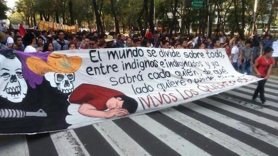 Mexico-protestas-normalistas-desaparecidos