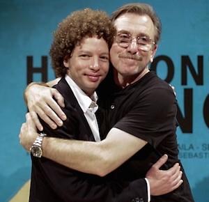 Michel Franco y Tim Roth fotografiados por Iñaki Pardo