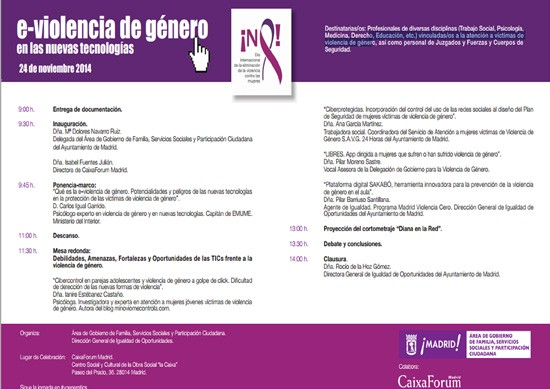 PROGRAMA DE LAS JORNADAS p