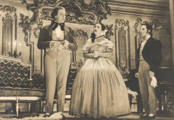 Paloma Lorena en Barcelona, 1951