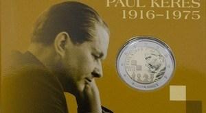 Imagen de Paul Keres y de la moneda de 2 euros