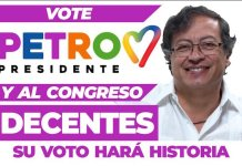 Petro Decentes elecciones 2018