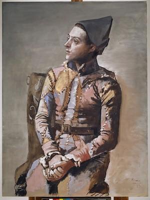 Pablo Picasso (1881–1973); Arlequin assis; 1923