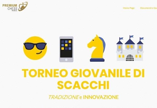 Cartel del Torneo 'Tradición e Innovación' donde se presentará la aplicación antifraude de Premium Chess Mobile.