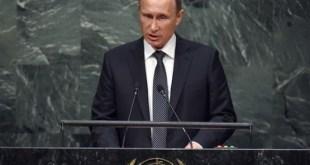 Putin en Naciones Unidas en septiembre de 2015