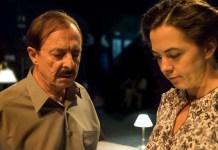 Roberto Quintana y Celia Vioque en una escena de Una hora en la vida de Stefan Zweig