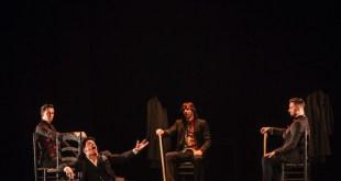 Roberto Jaén, David palomar, El Junco, Riki Rivera. Fot Javier fergo