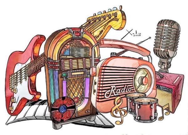 Rock and Roll por Xulio Formoso