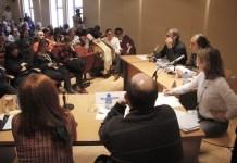 Mesa 'Internacionalización del cine español'. Foto: SGAE/Anabela Medrano Heredia