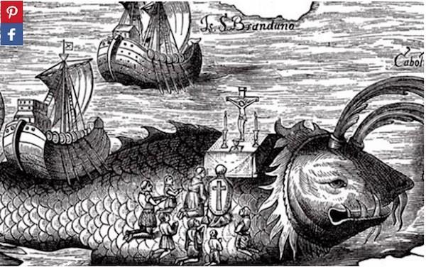 ¿Hizo el monje irlandés St. Brendan un viaje épico a través del Atlántico y pisó suelo estadounidense, novecientos años antes de que Cristóbal Colón zarpara hacia América?