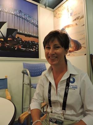 """Julie O""""Brien especialista en destinos de Queensland en Seatrade 2016"""