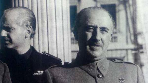 Serrano Suñer y Francisco Franco