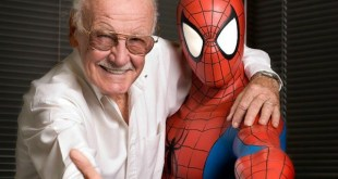 Stan Lee con Spiderman