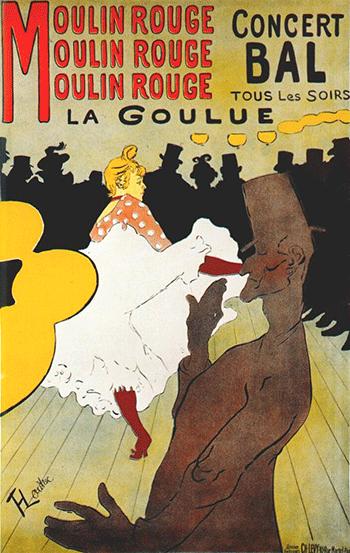 Cartel de Toulouse-Lautrec.