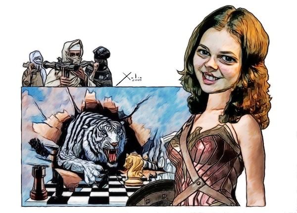 Anna Muzychuk por Xulio Formoso