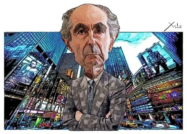 Philip Roth por Xulio Formoso
