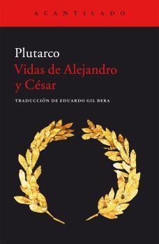 Acantilado: portada de Vidas de Alejandro y César