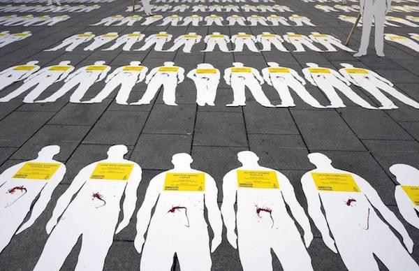 Campaña de Amnistía Internacional para detener los asesinatos de defensores de los derechos humanos en Colombia
