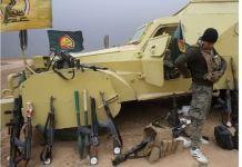 Milicianos enrolados en las fuerzas armadas iraquíes