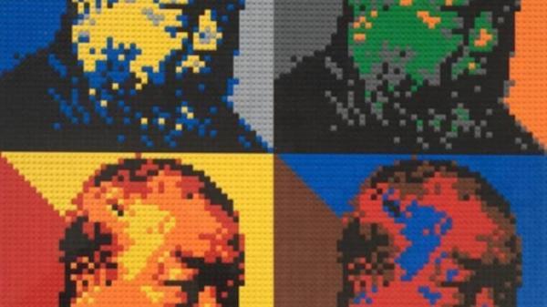 Ai Weiwei defiende la libertad de expresión con retratos de Lego