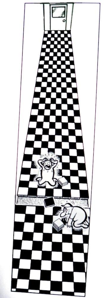 Curiosa secuencia ajedrecística de Al Jaffee.