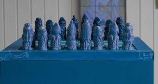 El ajedrez azul de Groenlandia