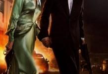 Cartel de Aliados, protagonizada por Brad Pitt y Marion Cotillard