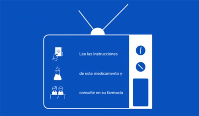 anuncio medicamentos en televisión