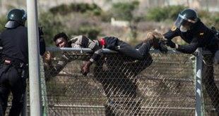 Derechos humanos conculcados en la frontera sur de Europa